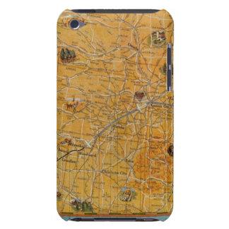 Illustrerad karta av Us Airways Barely There iPod Case