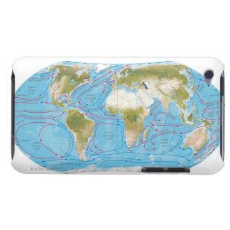 Illustrerad karta iPod Case-Mate skydd