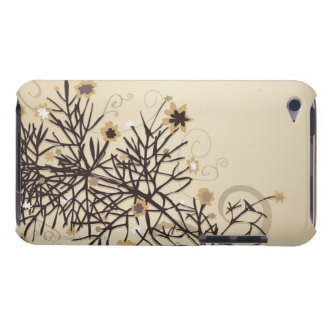 Illustrerad växt 2 iPod Case-Mate fodraler