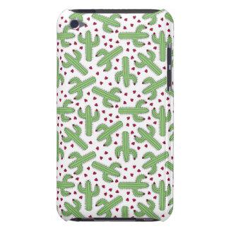 Illustrerat kaktus- & rosablommamönster iPod Case-Mate fodraler