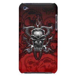 Illustrerat kromskelett för Terminator skalle iPod Case-Mate Fodraler