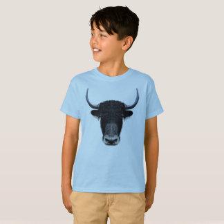 Illustrerat porträtt av inhemska yak. tee shirts