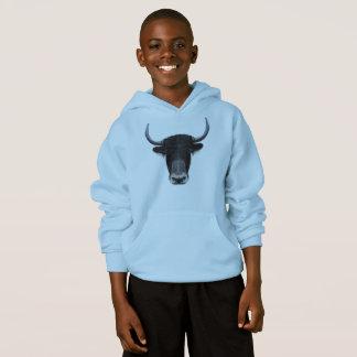 Illustrerat porträtt av inhemska yak. tröjor
