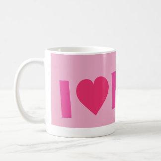 ilove pink.ai kaffemugg