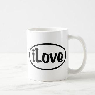 iLoveOval Kaffemugg