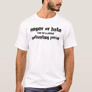 ilska eller hat kan vara en användbar motivera t shirt