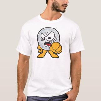 Ilsken golfbolltecknad tee shirt