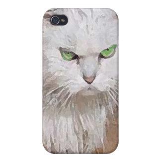 Ilsken katt! iPhone 4 cases