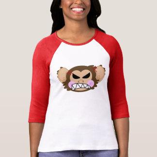 Ilsken Kawaii apa - T-tröja Tshirts