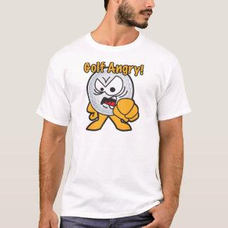 Ilsken tecknadgolfboll för Golf T-shirts