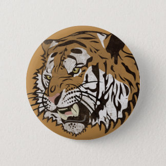 Ilsken tiger standard knapp rund 5.7 cm