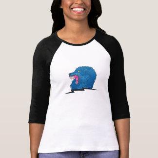 Ilsken varg t-shirt