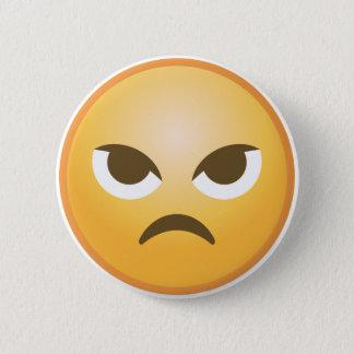 Ilskna Emoji Standard Knapp Rund 5.7 Cm