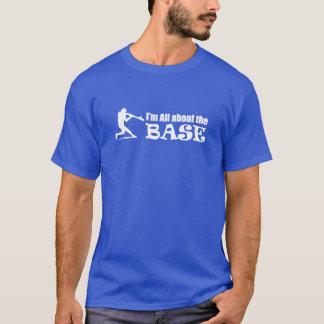 Im all om BASERA - baseballTshirt Tee Shirts