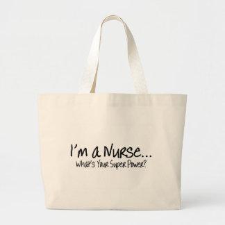 Im driver en sjuksköterska vad är din toppen tygkassar
