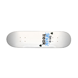 im en musikfreak skateboard bräda 21,5 cm