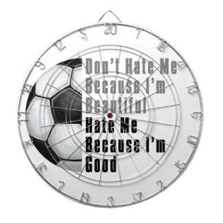 Im härlig fotbollboll för bra Im Dart Tavlor