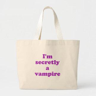 Im i hemlighet en vampyr jumbo tygkasse