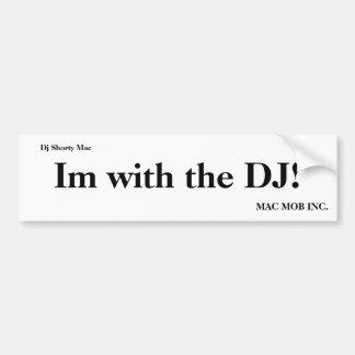 Im med DJEN! , MAC MOBBA INC., Mac för Dj Shorty Bildekal