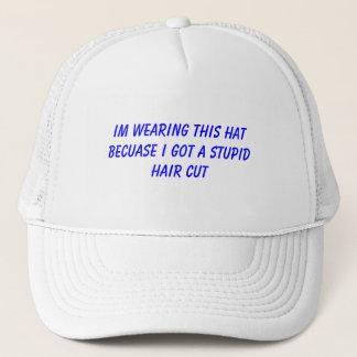 Im som ha på sig denna hatt, därför att I fick en Truckerkeps