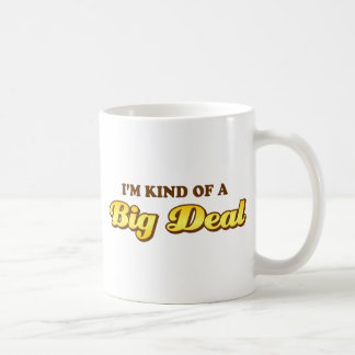 I'm sort av en stor överenskommelse kaffemugg