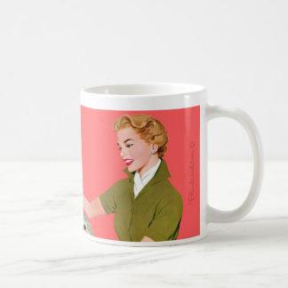 I'm too pretty for a cubicle. mug