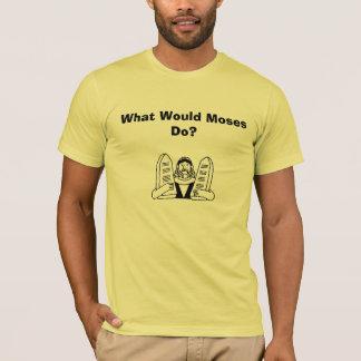 image78 vad skulle Moses gör? Tröjor