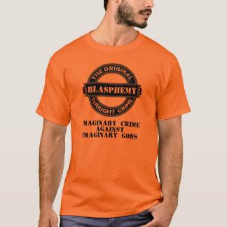 Imaginär brotts- T-tröja för hädelse (den svart Tröjor
