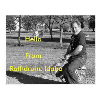 IMG_0034-4 Rathdrum, Idaho, HelloFrom Vykort
