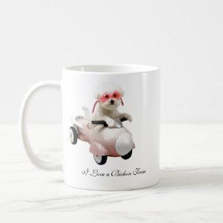 IMG_9595-F1 älskar jag en Bichon Frise Kaffemugg