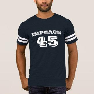 """""""Impeach 45"""" Anti-Trumf T Shirt"""