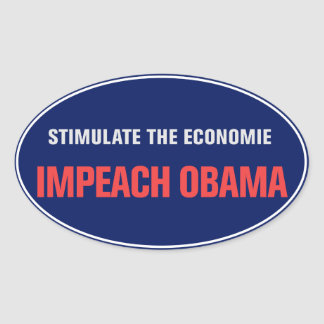 Impeach den Obama klistermärken