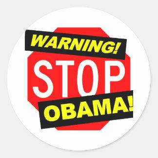 Impeach den Obama klistermärken (nobamabildekalet)