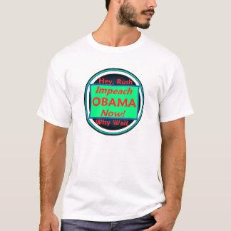 IMPEACH den OBAMA T-tröja T Shirt