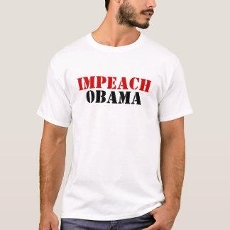 Impeach den Obama T-tröja T Shirts