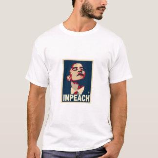 Impeach den Obama utslagsplatsen Tshirts