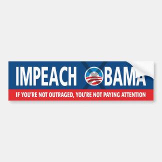 Impeach Obama Bildekal