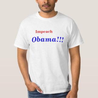 Impeach Obama T-shirts