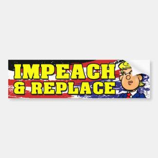 Impeach och byt ut bildekal