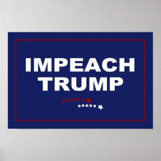 Impeach trumf poster
