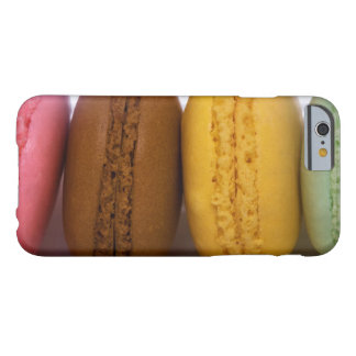 Importerade gourmet- franska macarons (macaroons) barely there iPhone 6 fodral