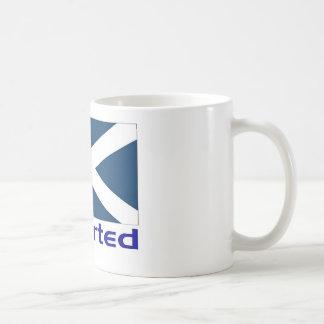 Importerat skott kaffemugg