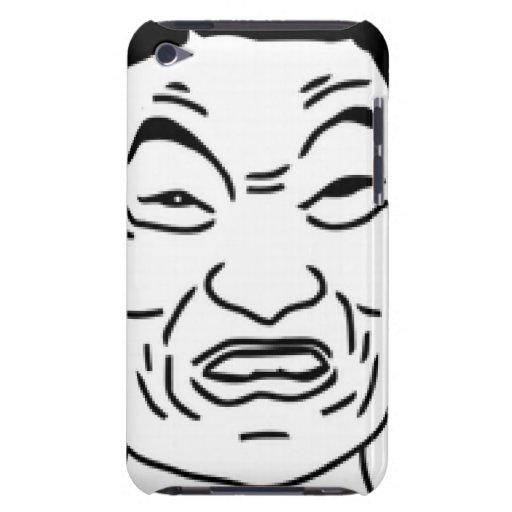Impossibru!! Komiskt ansikte iPod Case-Mate Skydd