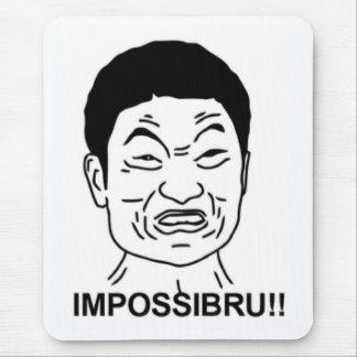 Impossibru!! Komiskt ansikte Musmattor