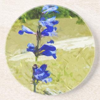 Impressionism för Carys Beardtongue blommaabstrakt Underlägg