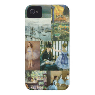 ImpressionistCollage iPhone 4 Case-Mate Skal