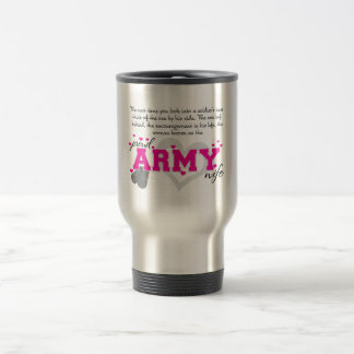 In i en soldat ögon - stolt arméfru resemugg