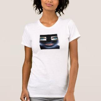 Inbillad maskinvampyr för utrymme tshirts
