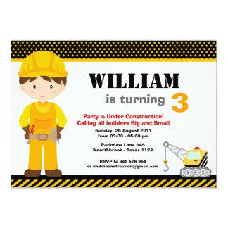 Inbjudan för anpassningsbar för konstruktionsbarns