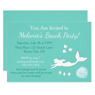 Inbjudan för anpassningsbar för party för